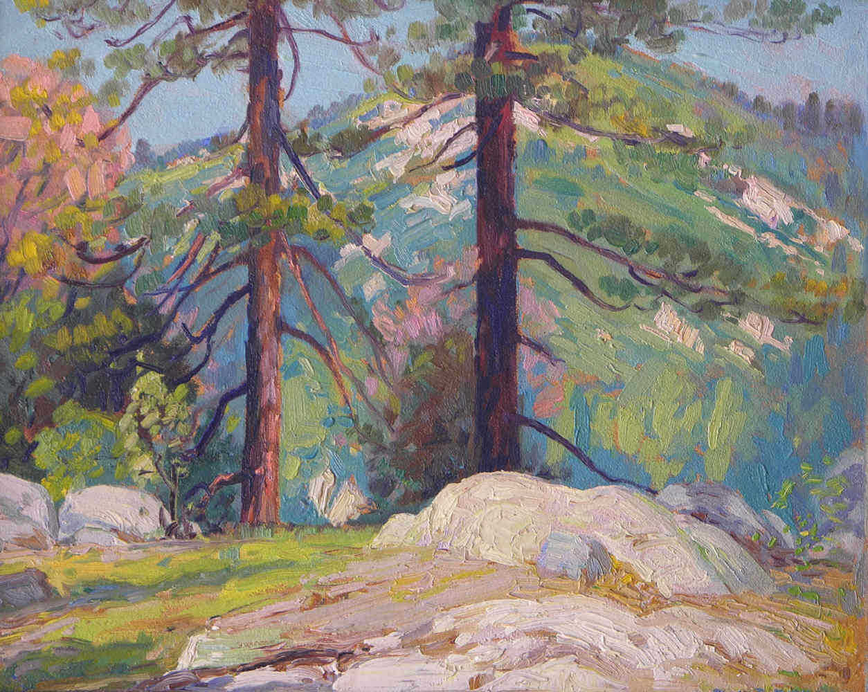 Alfred Mitchell - Cuyamaca Pines