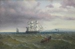 James Long Scudder - Ships Coming Home from Sea