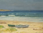 Alfred Mitchell - Boats on a Beach