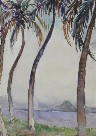 Donna Schuster - Shoreline with Trees