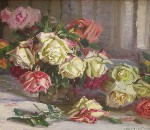 Joseph Kleitsch - Still Life with Roses