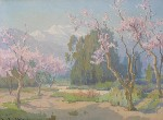 Marion K. Wachtel - Eucalyptus and Cherry Trees