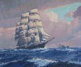 Joe Duncan Gleason - Clipper Ship