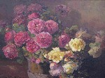 Franz Bischoff - Red & Yellow Roses