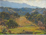 William Wendt - Valley Sunshine