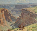 Edgar Payne - Untitled - Coal Canyon, Near Tuba City