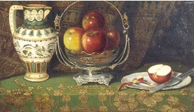 Ruben Lamb - Still Life with Apples