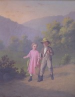 Johann Mongles Culverhouse - Children Walking