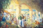 George Thompson Pritchard - Market Day