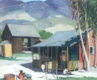 Paul Sample - Santa Paula Front Yard