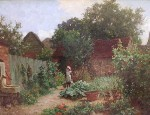 Charles Haigh-Wood - In the Garden