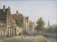Johannes Franciscus Spohler - Dutch Village