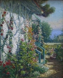 William C. Adam - Trellis in Bloom