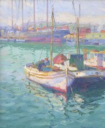 Joe Duncan Gleason - Fishing Boats