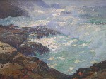 William Ritschel - Storm Lashed Coast