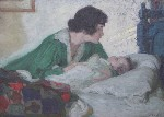 Henry Salem Hubbell - Tender Moment